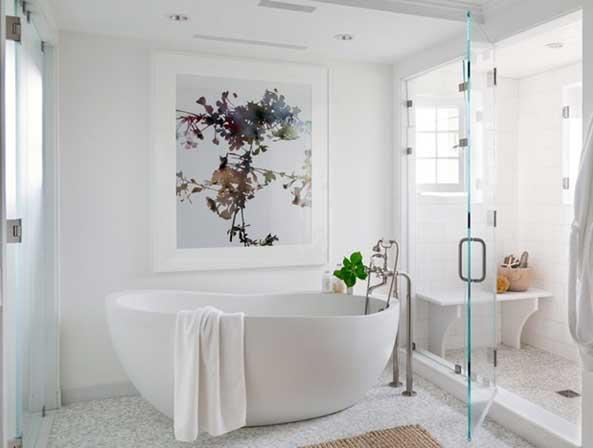 هنرهای دیواری در سرویس بهداشتی