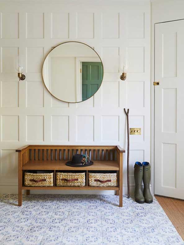سبک خاص در ورودی خانه