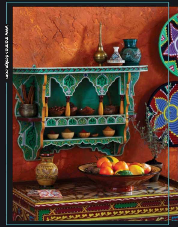 نقوش و جزییات مراکشی